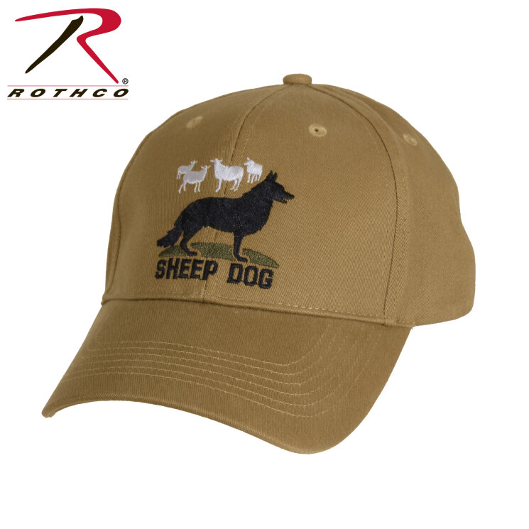 КЕПКА DELUXE LOW PROFILE SHEEP DOG - COYOTE   код ROTHCO 9819