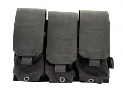 ПОДСУМОК Triple M4/M16 Mag Pouch(Black) код FLYYE FY-PH-M003-BK