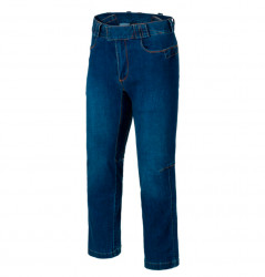 БРЮКИ Covert Tactical Pants Denim Mid, Vintage Worn Blue, код HELIKON-TEX SP-CTP-DD-96
