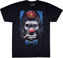 ФУТБОЛКА GORILLA CLOWN, код LIQUID BLUE 31214