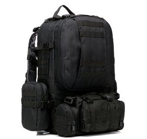 РЮКЗАК 50L Molle Assault Tactical Light Version 55x35x25cm AS-BS0051MB