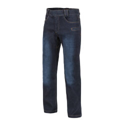 БРЮКИ GREYMAN TACTICAL JEANS® - Denim Mid - Dark Blue, код HELIKON-TEX SP-GTJ-DD-31