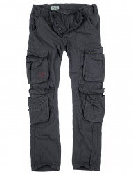 БРЮКИ AIRBORNE SLIMMY ANTHRAZIT GEWASHED, SURPLUS 53603.17