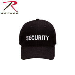 КЕПКА ROTHCO LOW PROFILE - BLK / SECURITY - WHITE код ROTHCO 9282