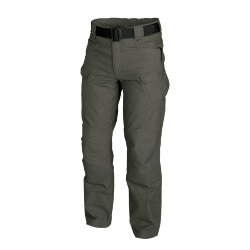 БРЮКИ URBAN TACTICAL ® - PolyCotton Ripstop - Taiga Green, код HELIKON-TEX SP-UTL-PR-09