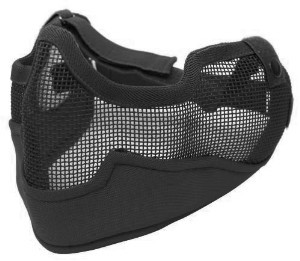 МАСКА G6 Full Protect Wire Mesh Mask Black KV19-009B