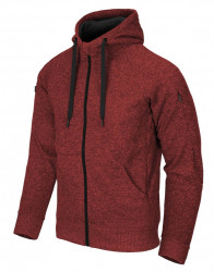 КУРТКА Covert Tactical Hoodie (FullZip)® - Melange Red, код BL-CHF-SF-M5