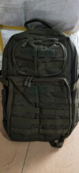 РЮКЗАК 32L 5.11 Style Airsoft Tactical 32x48x21cm AS-BS0101OD