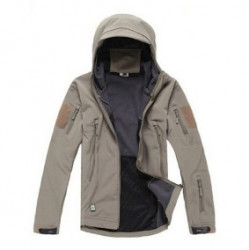 Куртка мембранная Sharkskin V Soft Shell Assault KHAKI, AS-UF0008K