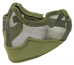 МАСКА G6 Full Protect Wire Mesh Mask Green KV19-009G
