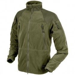 КУРТКА STRATUS® - Heavy Fleece - Olive Green, код HELIKON-TEX BL-STC-HF-02