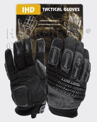 ПЕРЧАТКИ IMPACT HEAVY DUTY BLACK, код HELIKON-TEX RK-IHD-PO-01