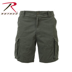 ШОРТЫ VINTAGE PARATROOPER - OD WASHED, ROTHCO 2160