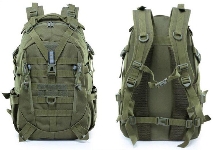РЮКЗАК 32L Outdoor Fashion Tactical 32x51x18cm AS-BS0105OD купить в интернет-магазине 7,62 по цене 1 260 руб.